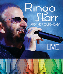 ringo starr the roundheads live the latest new dvds and blu rays reviewed by maggie woods. Black Bedroom Furniture Sets. Home Design Ideas