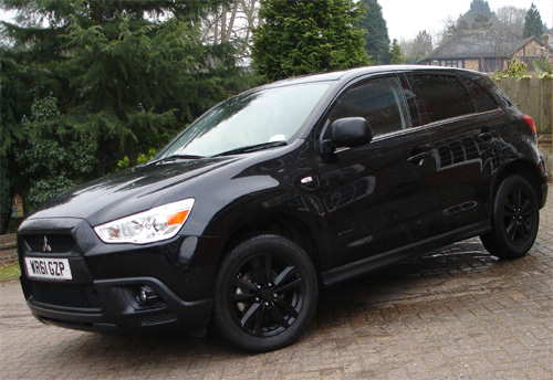 Pin New Mitsubishi Asx Black Special Edition Review on Pinterest